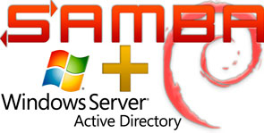 samba в домене Active Directory