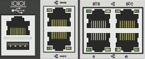 NetApp сетевые интерфейсы e0M RLM e0P